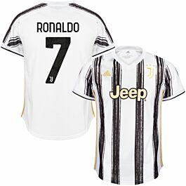 adidas Juventus Ronaldo 7 Home Jersey 2020-2021
