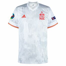 20-21 Spain Away Shirt + Euro 2020 & Respect Patches