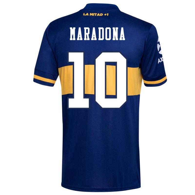 adidas Boca Juniors Home Maradona 10 Jersey 2020-2021 (Fan Style ...