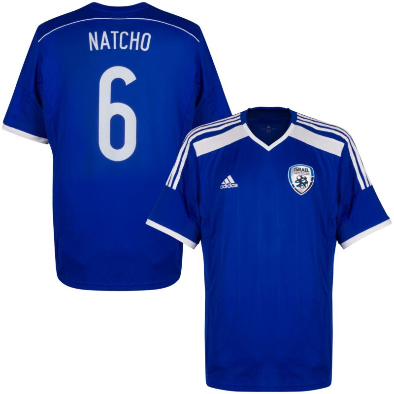 adidas Israel Home Natcho 6 Jersey 2015-2016