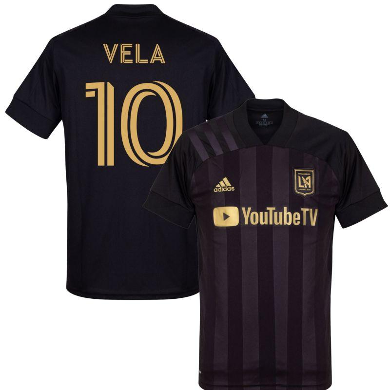 adidas Los Angeles FC Home Vela 10 Jersey 2020-2021 (Fan Style ...