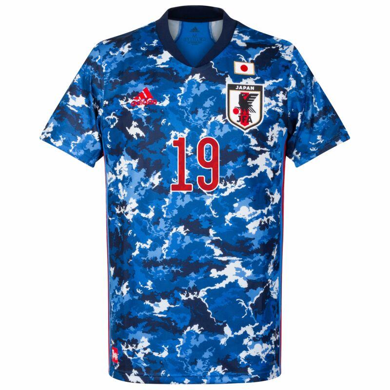 adidas Japan H.Sakai 19 Home Jersey 2020-2021 (Official Printing)