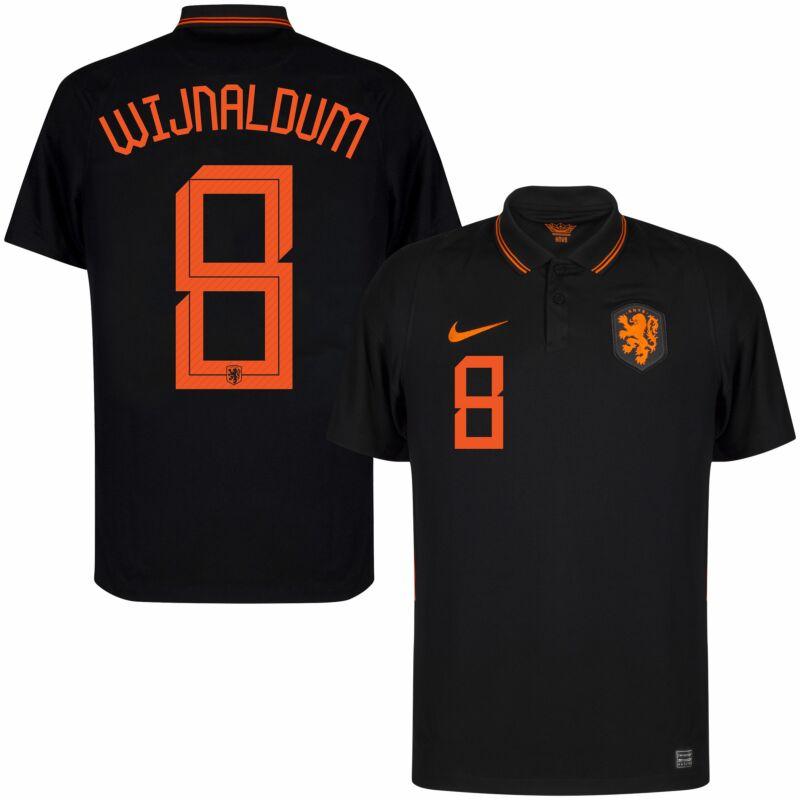 Nederlands Elftal Shirt Uit 2020 2021 Wijnaldum 8