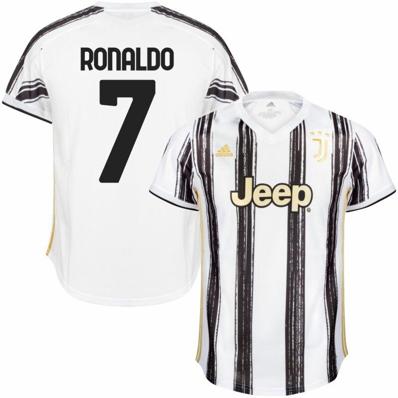 adidas Juventus Ronaldo 7 Home KIDS Jersey 2020-2021 (Fan Style ...