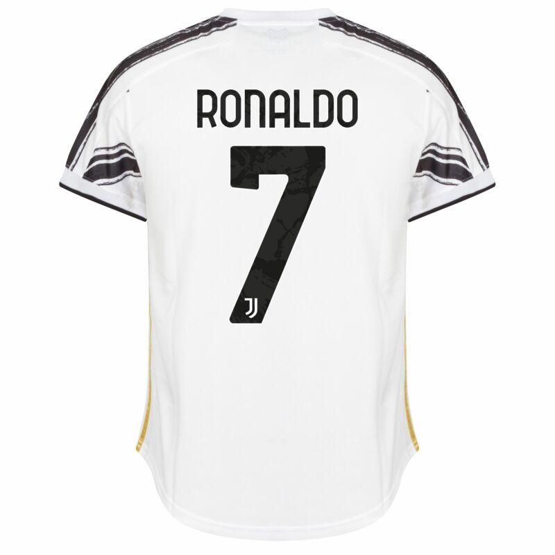 adidas Juventus Home Ronaldo 7 KIDS Jersey 2020-2021 (Official ...
