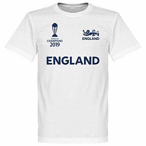 England Cricket World Cup Winners Tee - White