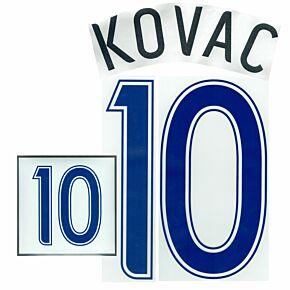 Kovac 10 - 06-07 Croatia Home Name and Number Transfer