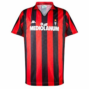 Kappa AC Milan 1989-1990 Home Shirt - USED Condition (Great) - Size L *READY TO PUBLISH*