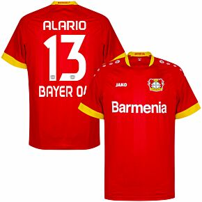 20-21 Bayer Leverkusen Away Shirt + Alario 13