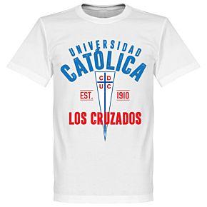 Universidad Catolica Established T-Shirt - White