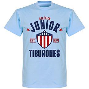 Junior Established T-Shirt - Sky