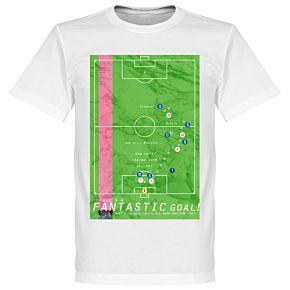 Pennarello Roberto Baggio 1990 Classic Goal Tee - White