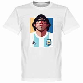 Playmaker Maradona Tee