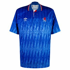 Umbro Chelsea 1989-1991 Home Shirt - USED Condition (Good) - Size L