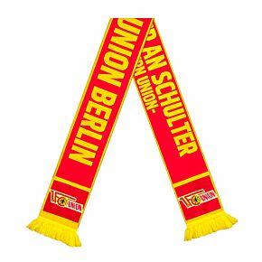 Union Berlin Shoulder-to-Shoulder scarf