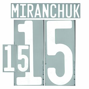Miranchuck 15 (Official Printing) - 20-21 Russia Home