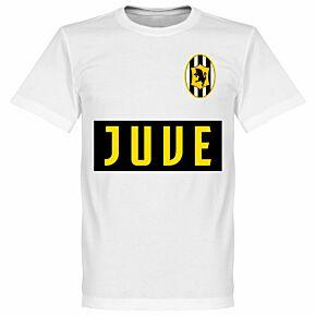 Juve Team Tee - White