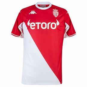 21-22 AS Monaco Home Shirt