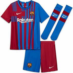 21-22 Barcelona Home Little Kids Kit