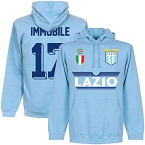 Lazio Immobile 17 Team Hoodie - Sky