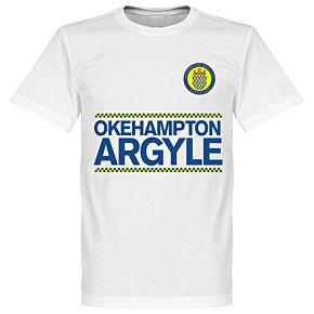 Okehampton Argyle Team Assist KIDS Tee - White
