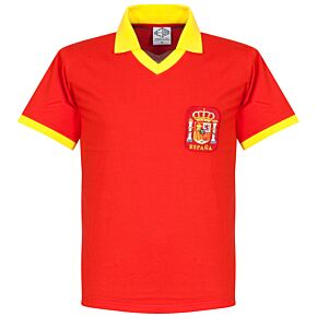 1970 Spain Home Retro Shirt