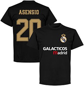 Galácticos Madrid Asensio 20 Team T-shirt - Black