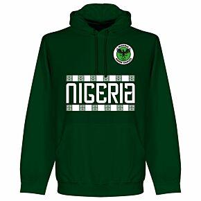Nigeria Team Hoodie - Bottle Green