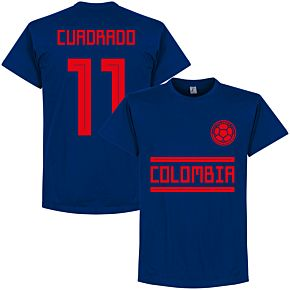Colombia Cuadrado 11 Team Tee - Ultra