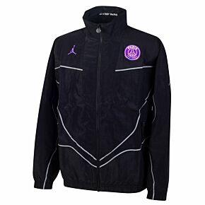 2021 PSG x Jordan Anthem Jacket - Black/Pink
