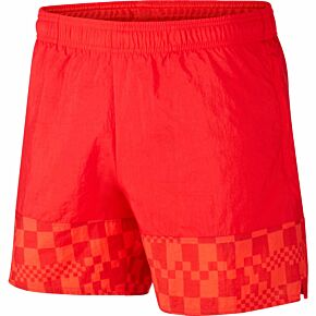 20-21 Croatia Woven Shorts - Red