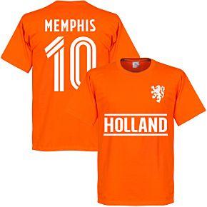 Holland Memphis Team T-Shirt - Orange