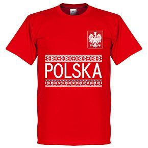 Poland Team Tee - Red