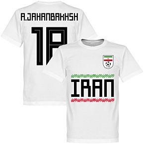 Iran A. Jahanbakhsh 18 Team Tee - White