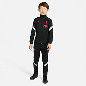 20-21 Liverpool Kids C/L Strike Tracksuit - black