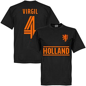 Holland Virgil Team T-Shirt - Black