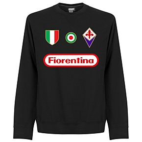 Fiorentina Team  Sweatshirt - Black