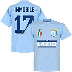 Lazio Immobile 17 Team T-Shirt - Sky