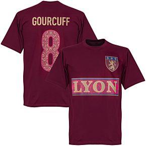 Lyon Gourcuff 8 Team T-shirt - Maroon