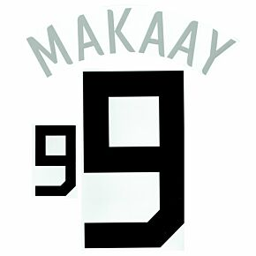 Makaay 9 - 06-07 Holland Home Official Name and Number Transfer