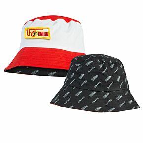Union Berlin Reversible Bucket Hat - Red/White-Black