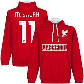 Liverpool M. Salah 11 Team Hoodie - Red/White