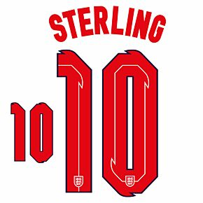 Sterling 10 (Official Printing) - 20-21 England Home