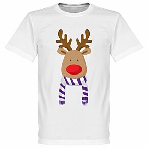 Reindeer Real Supporters Tee - White