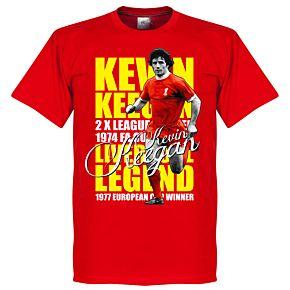 Kevin Keegan Legend Tee - Red