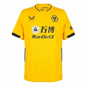 21-22 Wolves Home Shirt