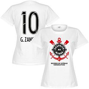 Corinthians G. Zanotti 10 Minas Womens Tee - White