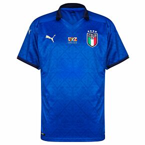 20-21 Italy Home Shirt + 2020 Transfer