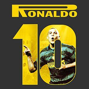 Ronaldo 10 (Gallery Printing) 20-21 Inter Milan 3rd