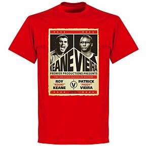 Keane v Viera Battle T-shirt - Red